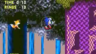 "Sonic 3 & Knuckles: Project Angel (Genesis) - Longplay as ""Sonic & Tails"""