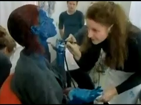 rebecca romijn mystique makeup video