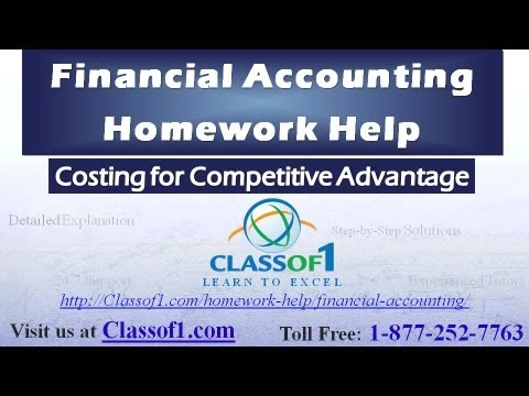costing for competitive advantage financial accounting homework  costing for competitive advantage financial accounting homework help by classof1 com
