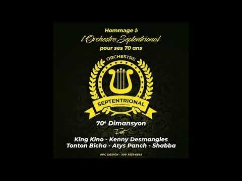 """Orchestre Septentrional """"70è  dimansyon"""" Juin 2018"""