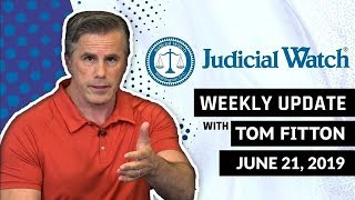 Judicial Watch Tom Fitton: NEW Strzok-Page Emails Show FBI-Media Collusion against Trump...& MOR