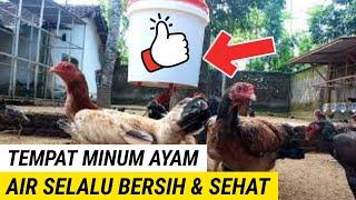 NIPPLE DRINKER, Air Minum Ayam Selalu Bersih.