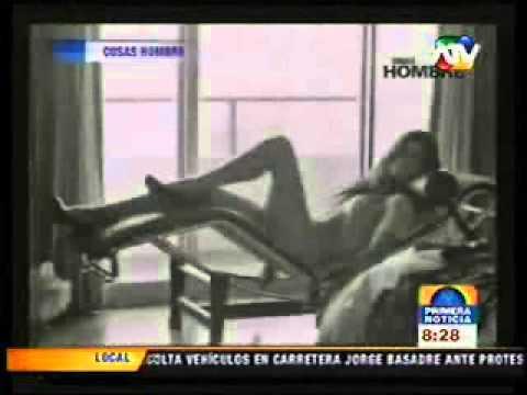 Vanessa Saba posó desnuda para la revista Cosas HOMBRE