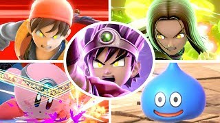 Hero All Victory Poses, Final Smash, Kirby Hat & Palutena Guidance in Smash Bros Ultimate