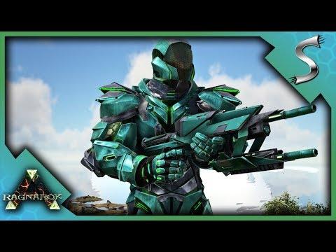 RAGNAROK BOSS ARENA FIGHT! DRAGON + MANTICORE DEFEATED & TEK GEAR - Ark: RAGNAROK [DLC Gameplay E73]