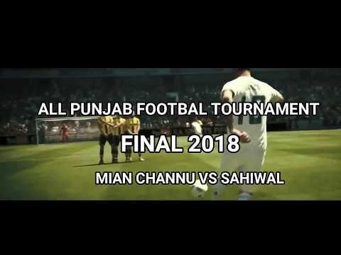 ALL PUNJAB FOOTBALL TOURNAMENT 2018 Final Match (Chak No. 23/10R)
