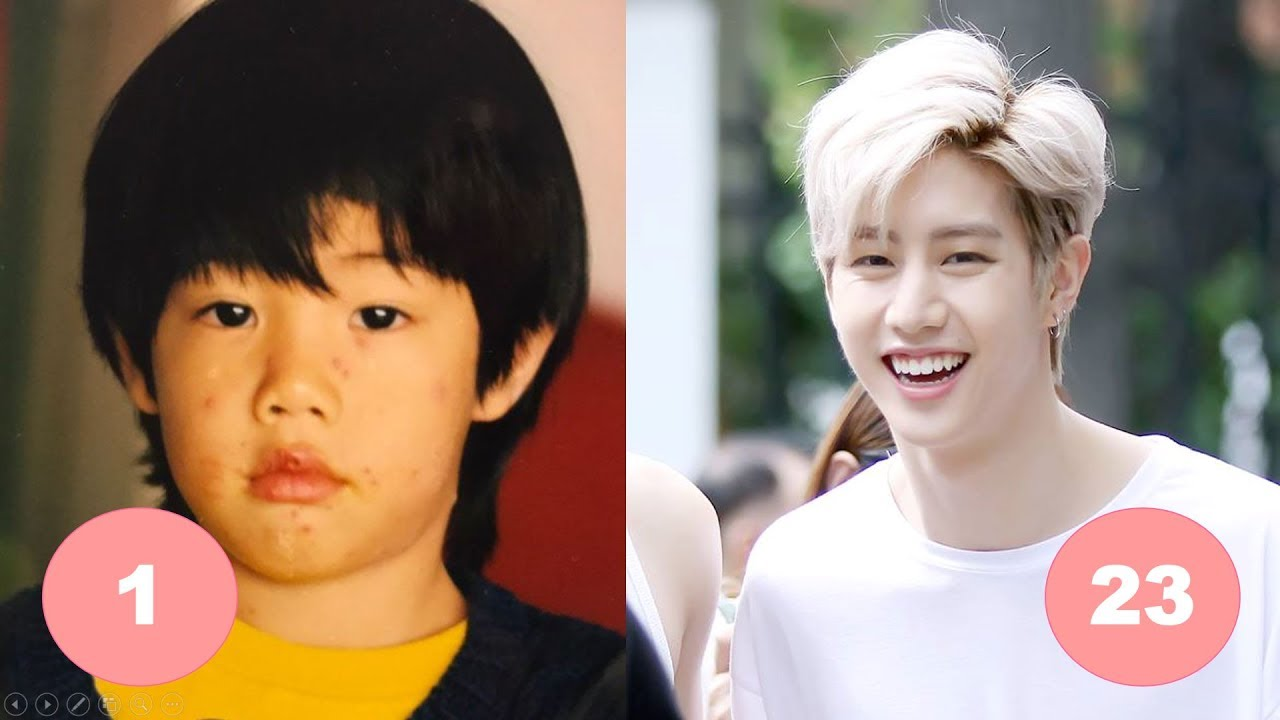 Mark Tuan GOT7 Childhood | From 1 To 23 Years Old - YouTube