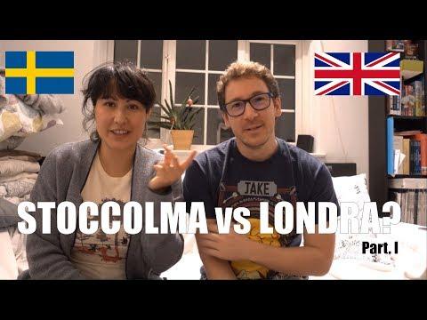 STOCCOLMA vs LONDRA - Intervista doppia a due italiani all'estero - Part. I