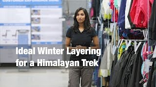 Ideal Winter Layering for a Himalayan Trek