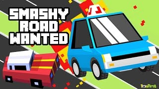 Smashy Road: Wanted - Troll Police Cars Destroy Tanks