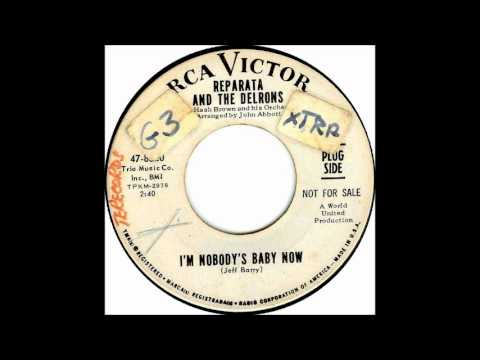 I'm Nobody's Baby-Reparata & Delrons-'1966- 45-RCA Victor 47 8820.wmv from YouTube · Duration:  2 minutes 47 seconds