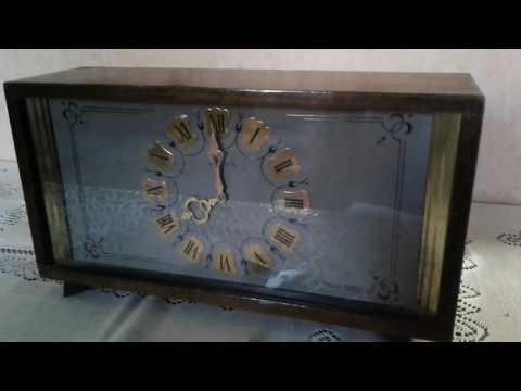Настольные (каминные),  механические часы с боем Весна