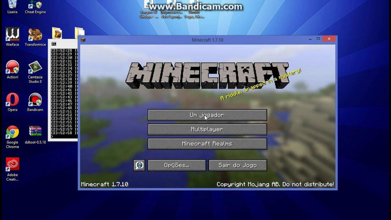 Server de minecraft 1.7.10 (Configurado+Download) - YouTube