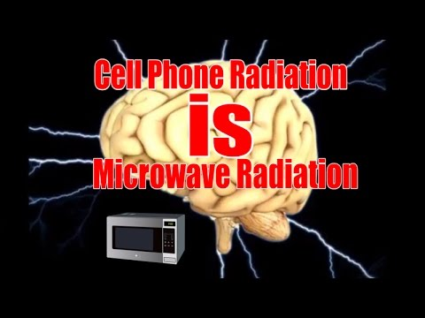 Cell Phone Radiation is Microwave Radiation