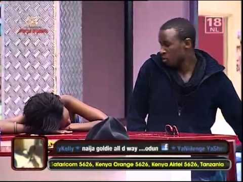 Jannette Kisses Alex   Big Brother Africa StarGame   Africa's Top Reality TV Show