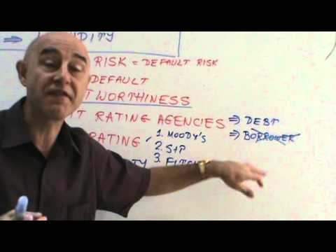Financial Markets and Institutions - Lecture 14