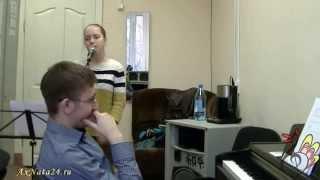 Урок вокала.Джаз-стандарт ч.5-я.Сложный ход и варианты его исполнения