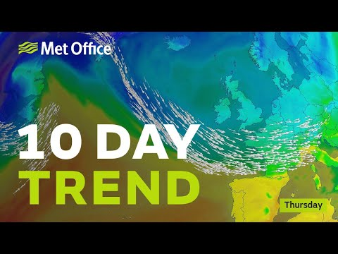 10 Day trend - Will the cold spell last into the week before Christmas?