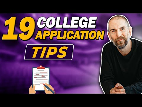 19 College Application Tips (To Help You Stand Out)