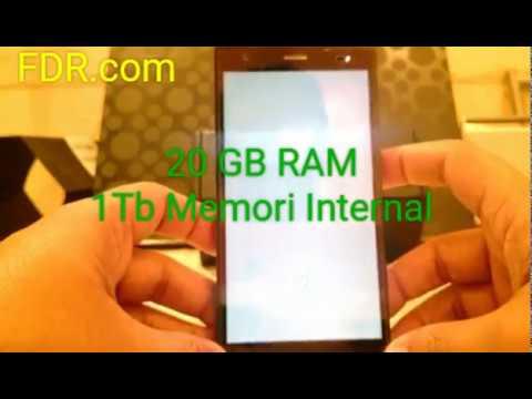 Gillaaa!!!Handphone Tercanggih di Dunia dengan RAM 12 GB ROM 1Tb Camera 60Mp iPhone 7 juga kalah!