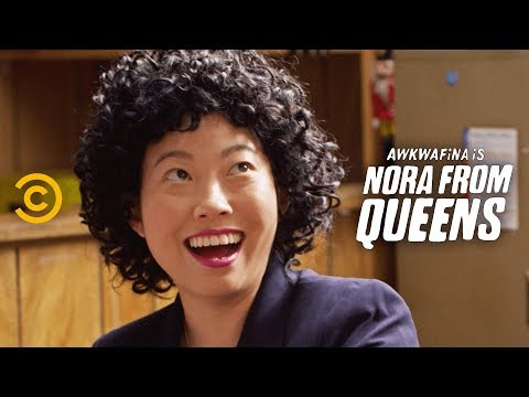 This Is Not What Work-Life Balance Looks Like - Awkwafina Is Nora From Queens