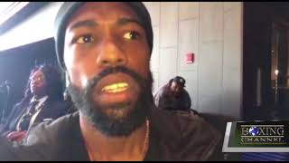 GARY RUSSELL JR  SAYS HE IS READY FOR