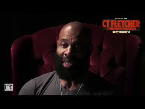 CT Fletcher and his story with the steroids....