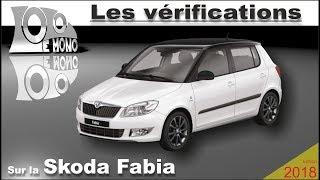 Skoda Fabia: vérifications et sécurité routière