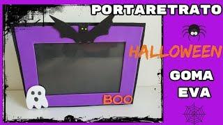 Portaretrato Halloween en Goma eva- Manualidades Fáciles