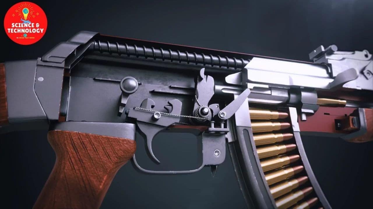 AK-47 Gun Factory Processing Line, Amazing Gun Manufacturing, Modern Ammunition Plant, Army Weapon