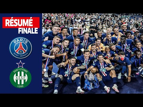 Finale Coupe de France 2020 : Paris Saint-Germain - AS Saint-Étienne (1-0)