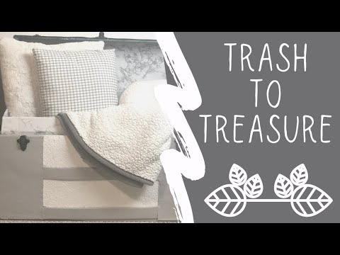 ✨TRASH TO TREASURE | UPCYCLE PROJECTS | FARMHOUSE DECORATING IDEAS✨