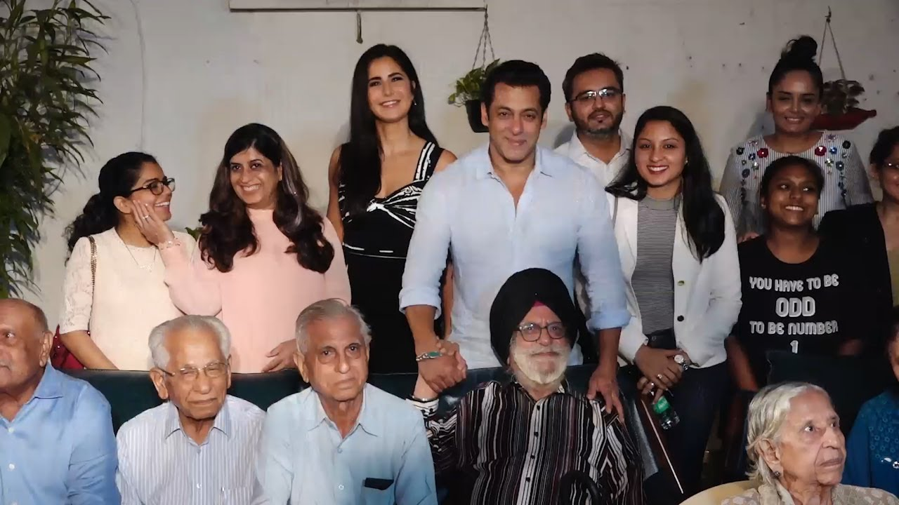 Bharat Salman Khan Katrina Kaif Meet Families Separated During 1947 Partition