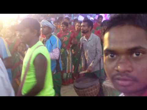Santal Culture Pata Dance At Kundura Kuli