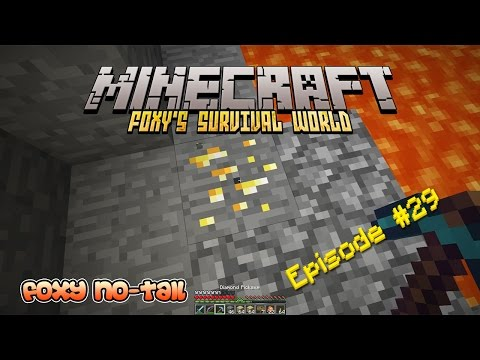 Minecraft Survival - How to mine Gold Ore [29]