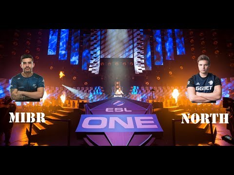 ESL One Cologne 2018: MIBR VS NORTH
