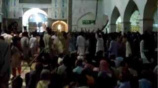 P1 - Qalanderi Dhamal - Sehwan Sindh @ Mizar of Hazarat Lal Shehbaz Qalander