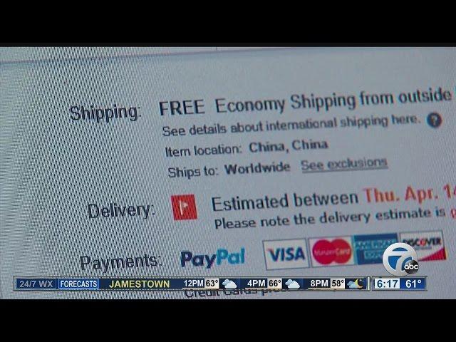 New eBay scam: No product, no refund, too bad