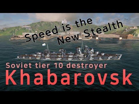[WOWS Blitz] Soviet Destroyer Khabarovsk