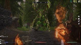 18.Skyrim (Evolution 2. 5 Beta) Спасение 2 встреча бога охоты