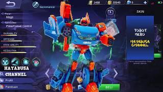 Semua Tobot Y X Z R Ada di Mobile Legends dan Bertarung! WOW!!
