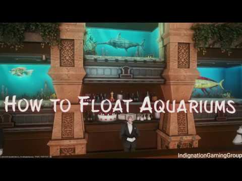 FFXIV How To Float An Aquarium Housing Tutorial And Guide (Updated)