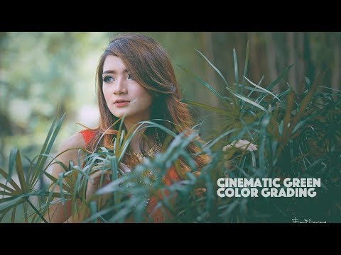 Cinematic Green Effect Color Grading Photoshop Tutorial thumbnail