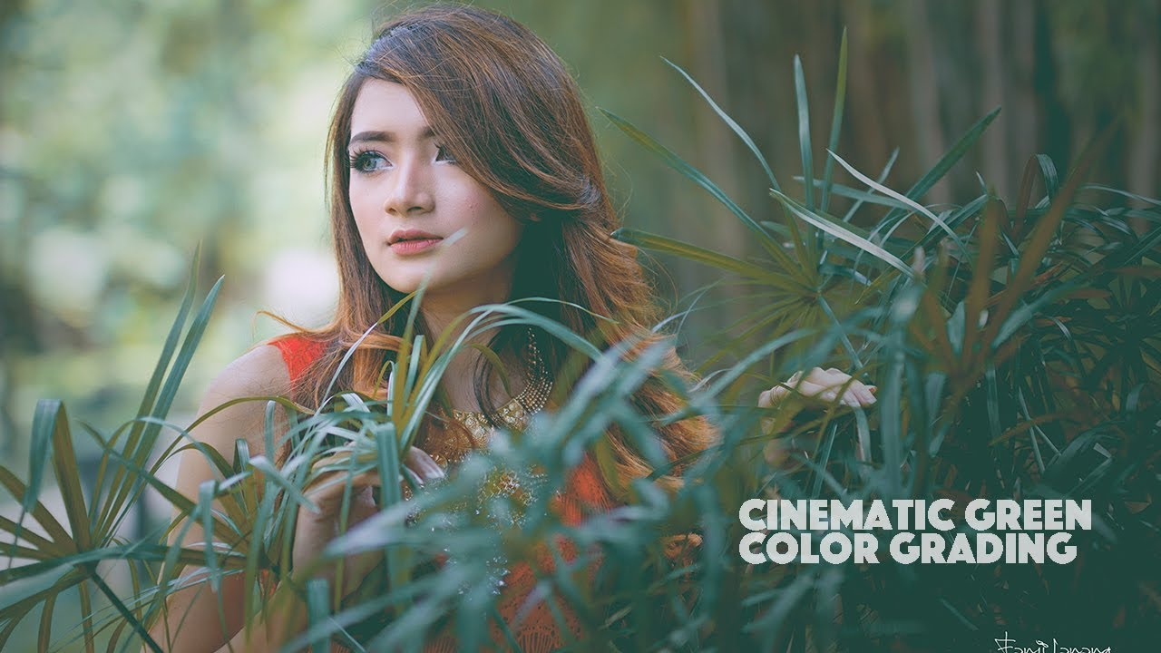 Cinematic Green Effect Color Grading Photoshop Tutorial