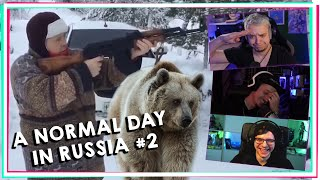 DER IST GANZ ANDERS DRAUF! A Normal Day In Russia #2 [React]