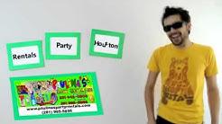 Party Rentals Houston Moonwalks 281-995-5856