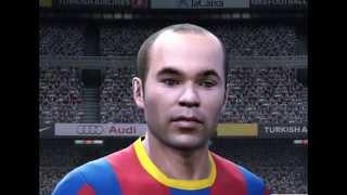 FIFA 11 player faces vs PES 2011