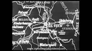 The Battle of the Bulge:  St. Vith