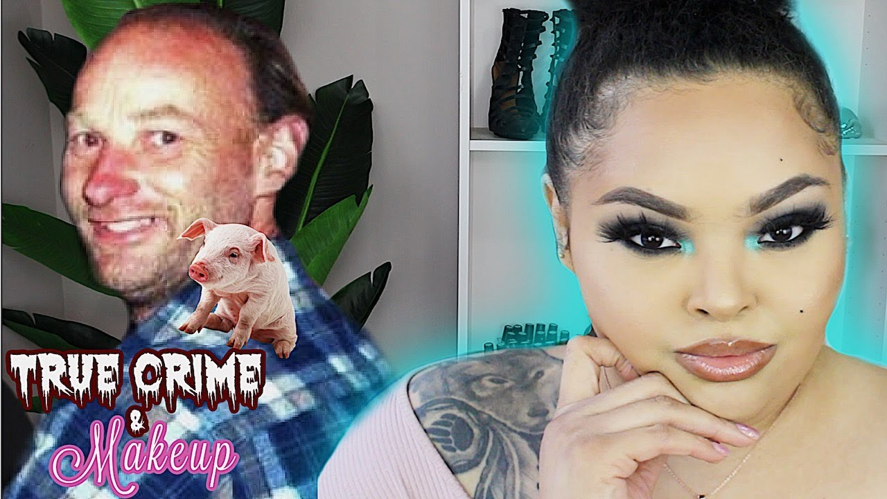 True Crime and Makeup | Pig Farmer Robert Pickton | Brittney Vaughn