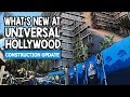 Universal Studios Hollywood Construction Update | Jurassic World, Nintendo Land, & More!